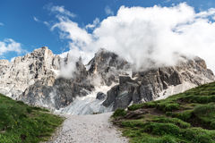 Dolomites, Pale di San Martino landscape Royalty Free Stock Images