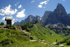 The Dolomites of the Pale group Royalty Free Stock Photography
