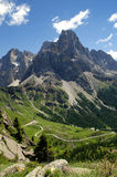 The Dolomites of the Pale group Royalty Free Stock Images