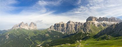 Free Dolomites Panorama Royalty Free Stock Photos - 10444448