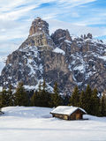 Dolomites panorama Royalty Free Stock Image