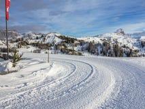 Dolomites panorama Stock Images