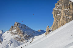 Dolomites panorama Royalty Free Stock Images