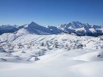 Dolomites panorama Stock Photography