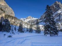 Dolomites panorama Royalty Free Stock Photo
