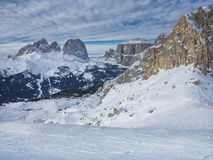 Dolomites' panorama Royalty Free Stock Images