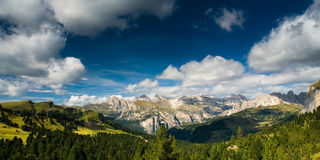Dolomites panorama Royalty Free Stock Photography