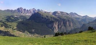 Dolomites panorama, Itália imagem de stock royalty free