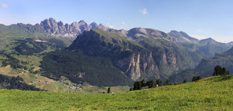 Dolomites panorama, Italy Royalty Free Stock Image