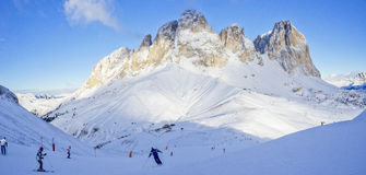 Dolomites panorama Stock Photos