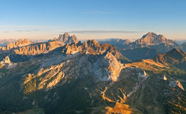 Dolomites panorama Stock Photo