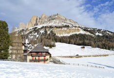 Dolomites peak Stock Photo