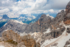 Dolomites Peaks Royalty Free Stock Photo