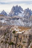 Dolomites peaks Royalty Free Stock Photography
