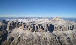 Dolomites Piz Boe Imagem de Stock Royalty Free