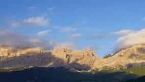 Dolomites Range stock footage