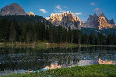 Dolomites reflection 2 Royalty Free Stock Photo