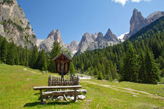 Dolomites, Rosegarden Royalty Free Stock Images