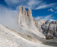 The Dolomites - Rosengarten / Catinaccio Stock Photography