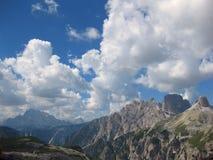 Dolomites södra Tyrol, Italien landskap Royaltyfri Bild