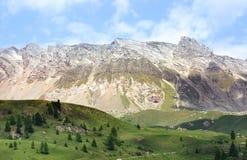 Dolomites, San Pellegrino, Italie image libre de droits