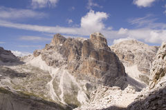 The Dolomites scenery Royalty Free Stock Images