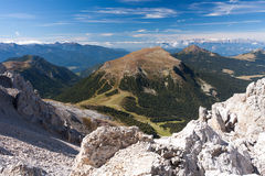 Dolomites Scenery Stock Photography