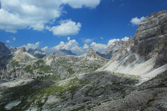 Dolomites scenery Royalty Free Stock Images