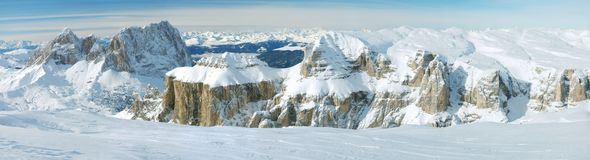 Dolomites, Sella Royalty Free Stock Images