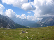 Dolomites South Tyrol, Italy landscape Royalty Free Stock Photo