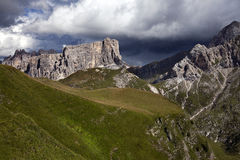 Dolomites before Storm Royalty Free Stock Images