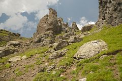 Dolomites Summer Landscape Stock Photography