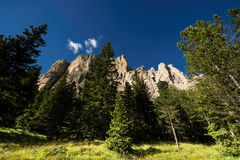 Dolomites in Summer Royalty Free Stock Images