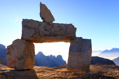 Dolomites Sunrise Royalty Free Stock Images