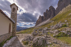 In the Dolomites Royalty Free Stock Photography