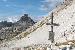 Dolomites in Trentino royalty free stock images