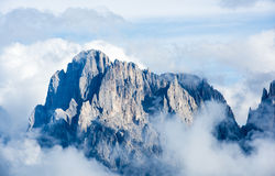 Peaks of Dolomites Royalty Free Stock Images