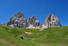 Dolomites Unesco Royalty Free Stock Photography