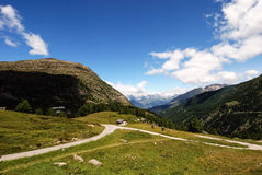 Dolomites Valley Stock Images