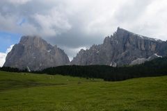Dolomites view Stock Photography
