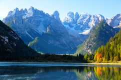 Dolomites, view of Monte Cristallino Stock Photography