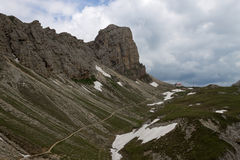 Dolomites view Royalty Free Stock Photos