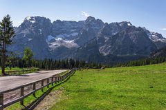 In the Dolomites Stock Photography
