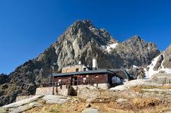 Dolomitesberg, Italien Arkivfoton