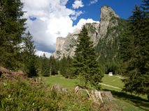 Dolomitesbergpanorama Arkivfoton