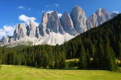 Dolomitesna Fotografering för Bildbyråer