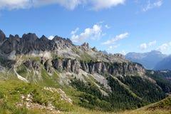 Dolomitesnationalparken Arkivbild