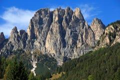 Dolomitespanorama Arkivbilder