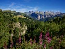 Dolomitespanorama Fotografering för Bildbyråer