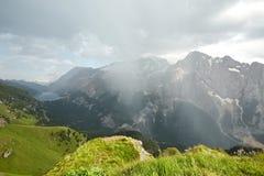 Dolomitessommarlandskap Royaltyfri Bild
